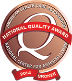 Congratulations to National Quality Award Winner